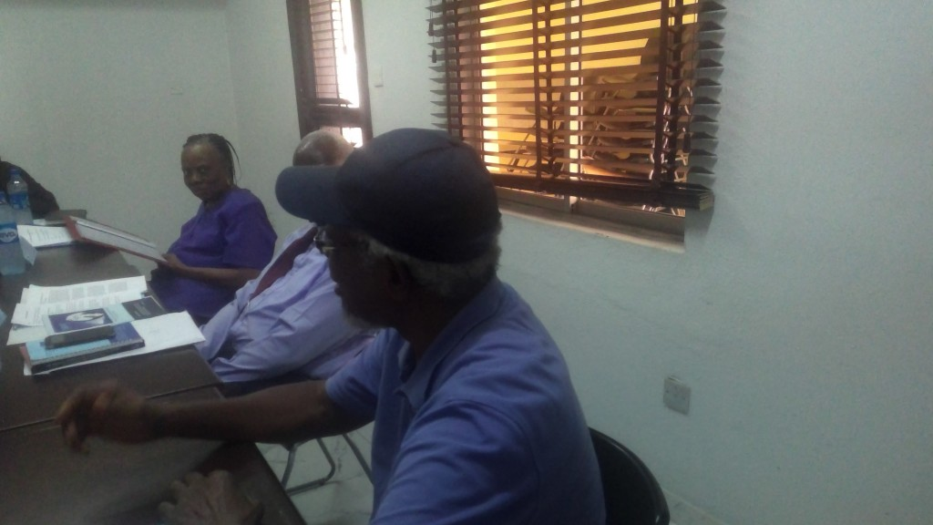 Prof. Emeritus D. U. U Okali (Trustee, Osifa/Chairman of the Discusion